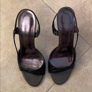 Heels black 7.5